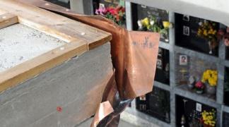 Castellammare, furti di rame al cimitero comunale.