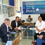 Mazara,Il Viceministro per la Pianificazione Industriale  del Venezuela, Ramon Rosales in visita al Distretto della Pesca siciliano
