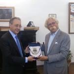Prefetto Leopoldo Falco Sindaco Nicola Cristaldi 150x150 Mazara, la spagnola Albengoa vuole realizzare un impianto di produzione di energia solare