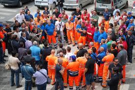 Ato Belice Ambiente: esplode la protesta dei lavoratori