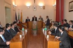 consiglio comunale Calatafimi, i consiglieri si dimettono in blocco