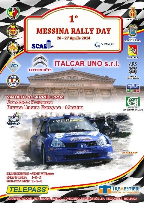 [Automobilismo] Il Messina Rally Day scatta con sessantasette iscritti