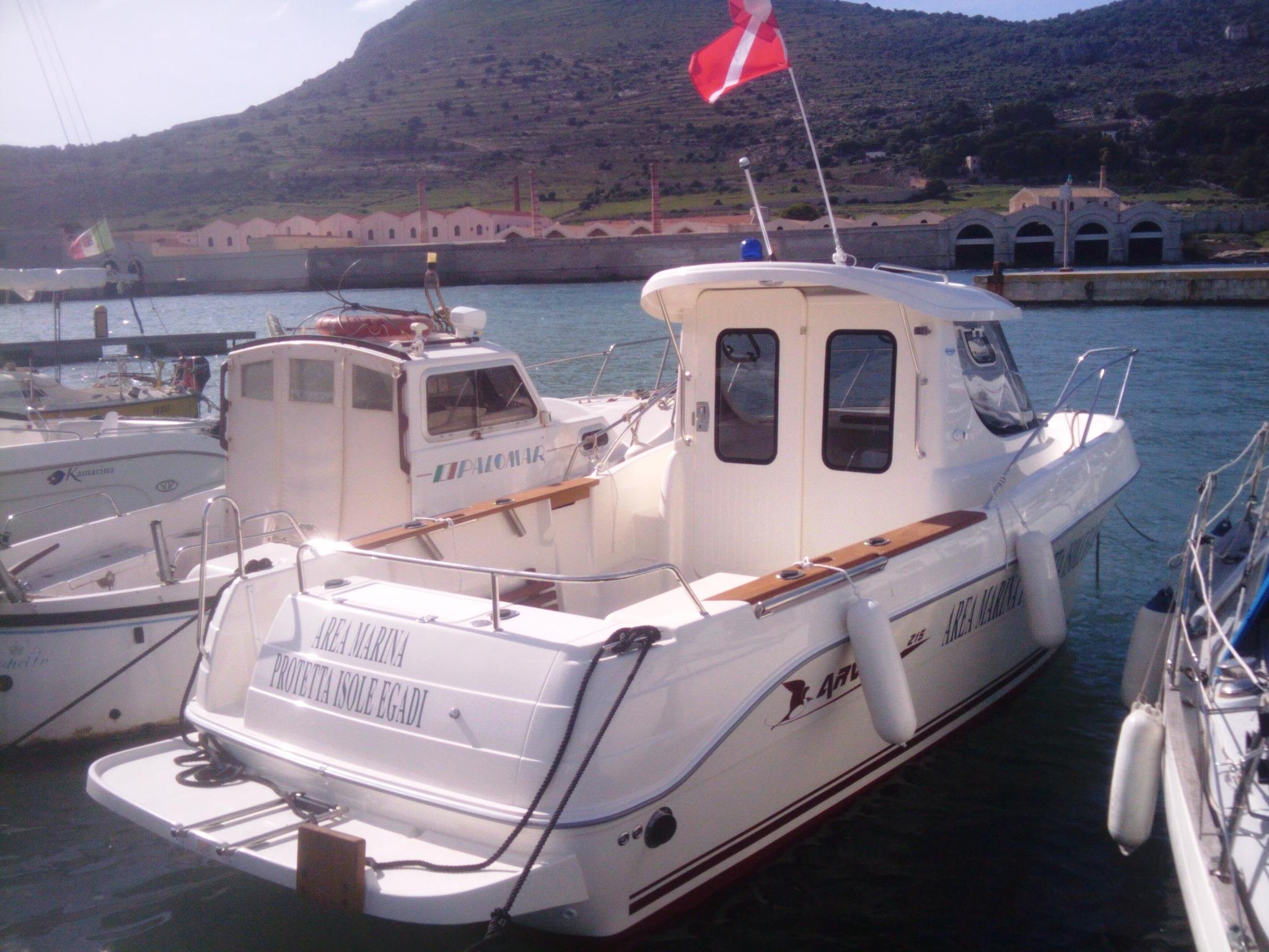 [Isole Egadi] Continui controlli invernali dell'Area Marina Protetta