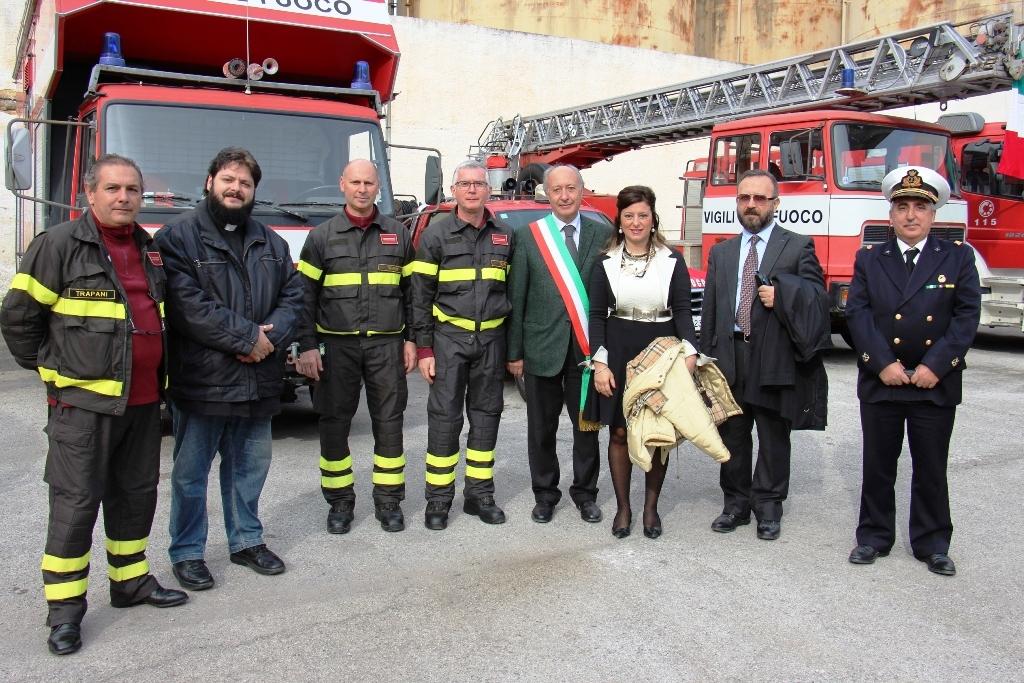 Marsala, I vigili del fuoco hanno celebrato la loro Patrona