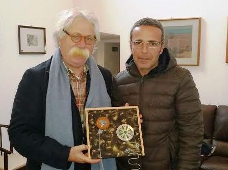 """Mazara, Conclusa la mostra """"Benanti – Burgio"""" nella Galleria 'Santo Vassallo'"""