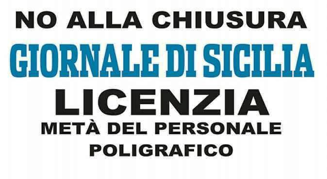 Giornale di Sicilia in sciopero: Protesta contro i licenziamenti