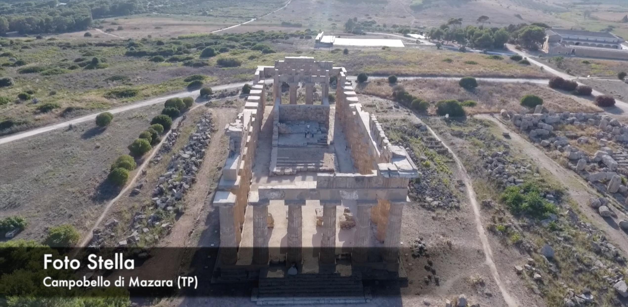 (Video) Il Tempio E di Selinunte  visto dall'alto !