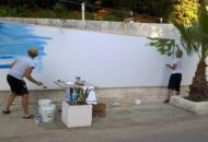 Mostre: prove d'artista in resort confiscato alla mafia nel Trapanese