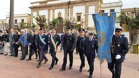 """Campobello, celebrazioni per la """"Giornata dell'Unità Nazionale e delle Forze Armate"""""""