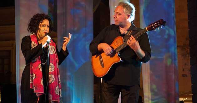 Approda a Pantelleria la grande musica di Antonella Ruggiero