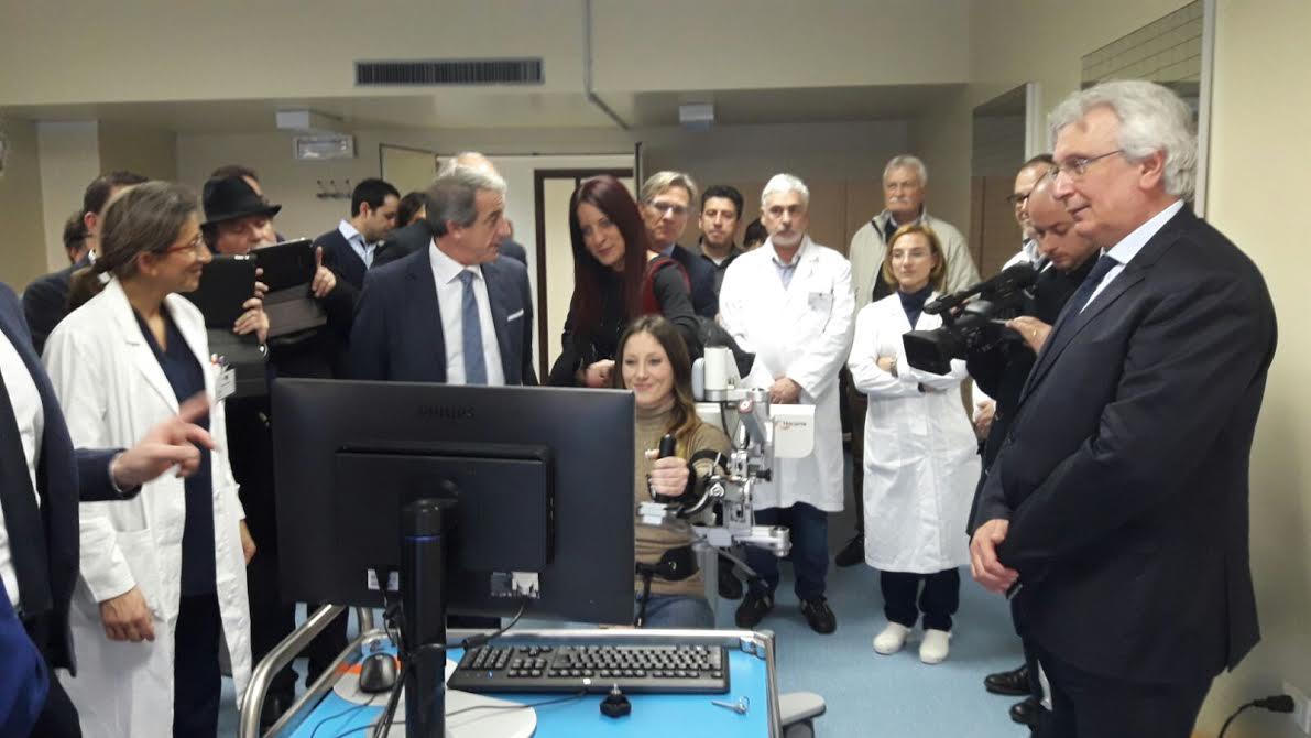 """Salemi, Inaugurata oggi la prima sede satellite in sicilia dell'irccs """"Centro neurolesi"""" di Messina"""
