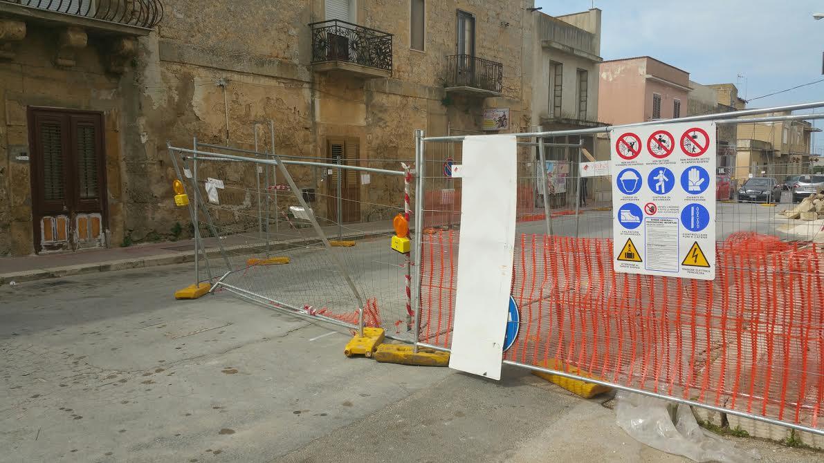 Campobello, Ex sindaco interviene sulla chiusura del Viale Risorgimento