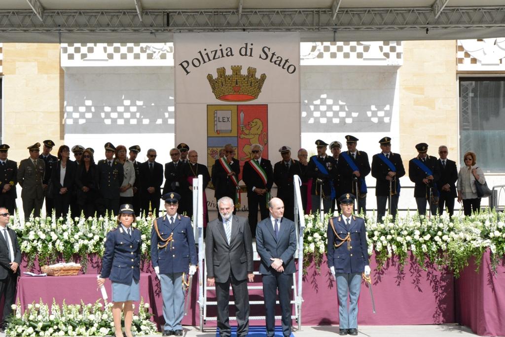 Mazara, celebrata la festa provinciale della Polizia di Stato
