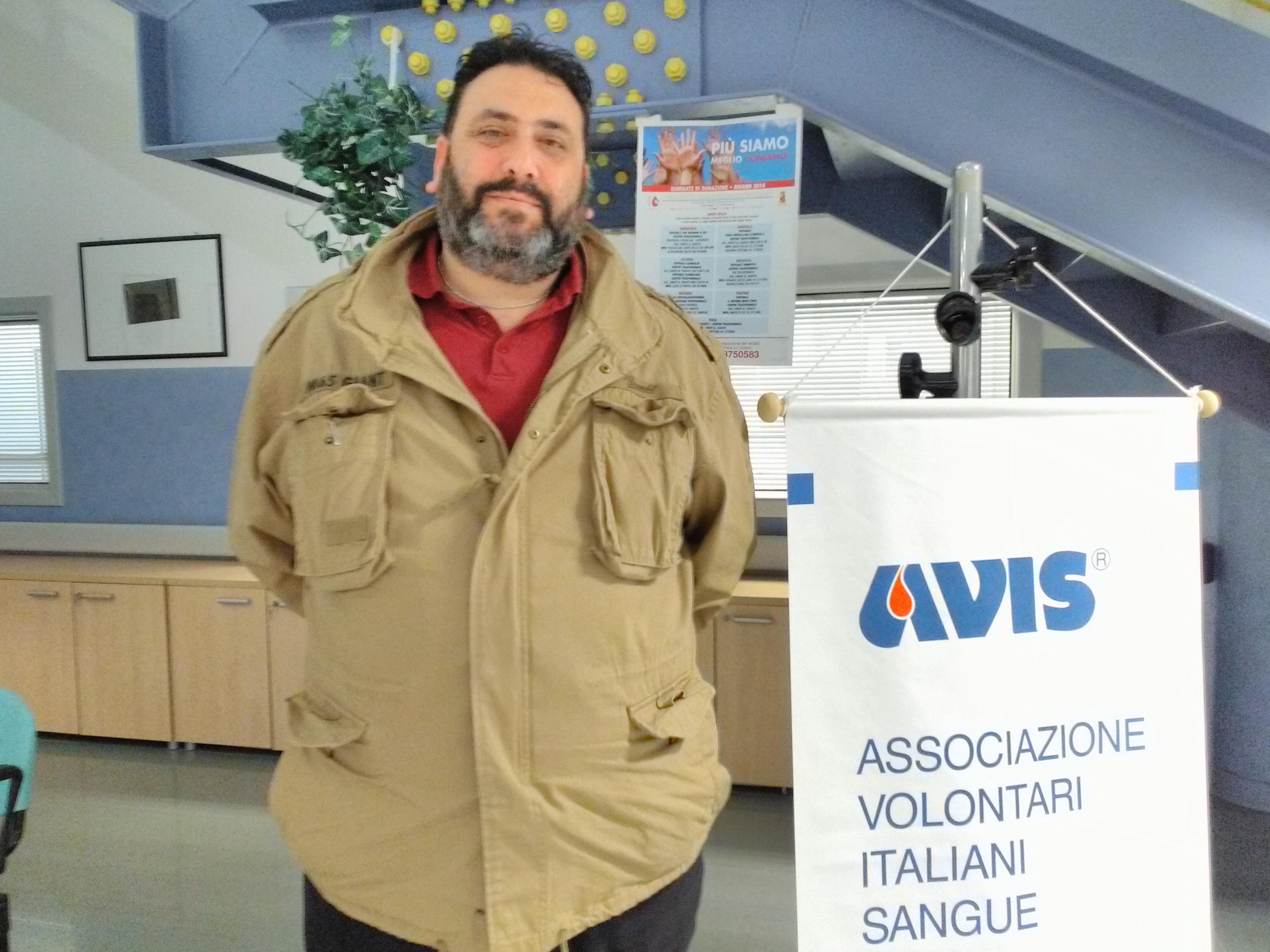 Il campobellese Francesco Licata è il nuovo presidente dell'AVIS Provinciale di Trapani