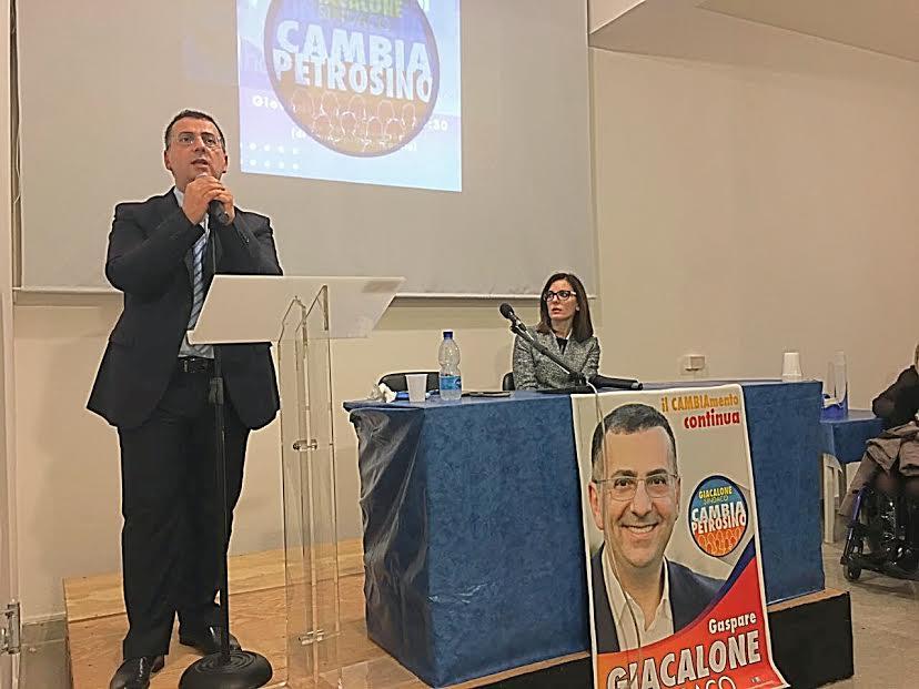 Amministrative a Petrosino, il Sindaco Gaspare Giacalone annuncia la sua ricandidatura