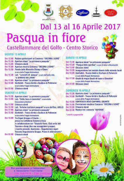 """Castellammare del Golfo: """"Pasqua in fiore"""" dal 13 al 16 Aprile"""