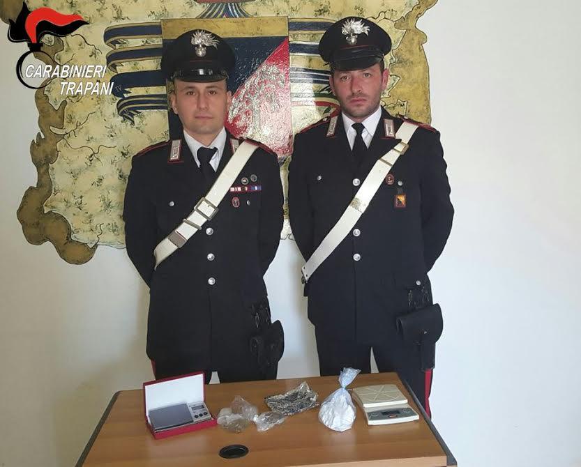 Marsala. Cocaina e marijuana in casa: arrestato 38enne mazarese