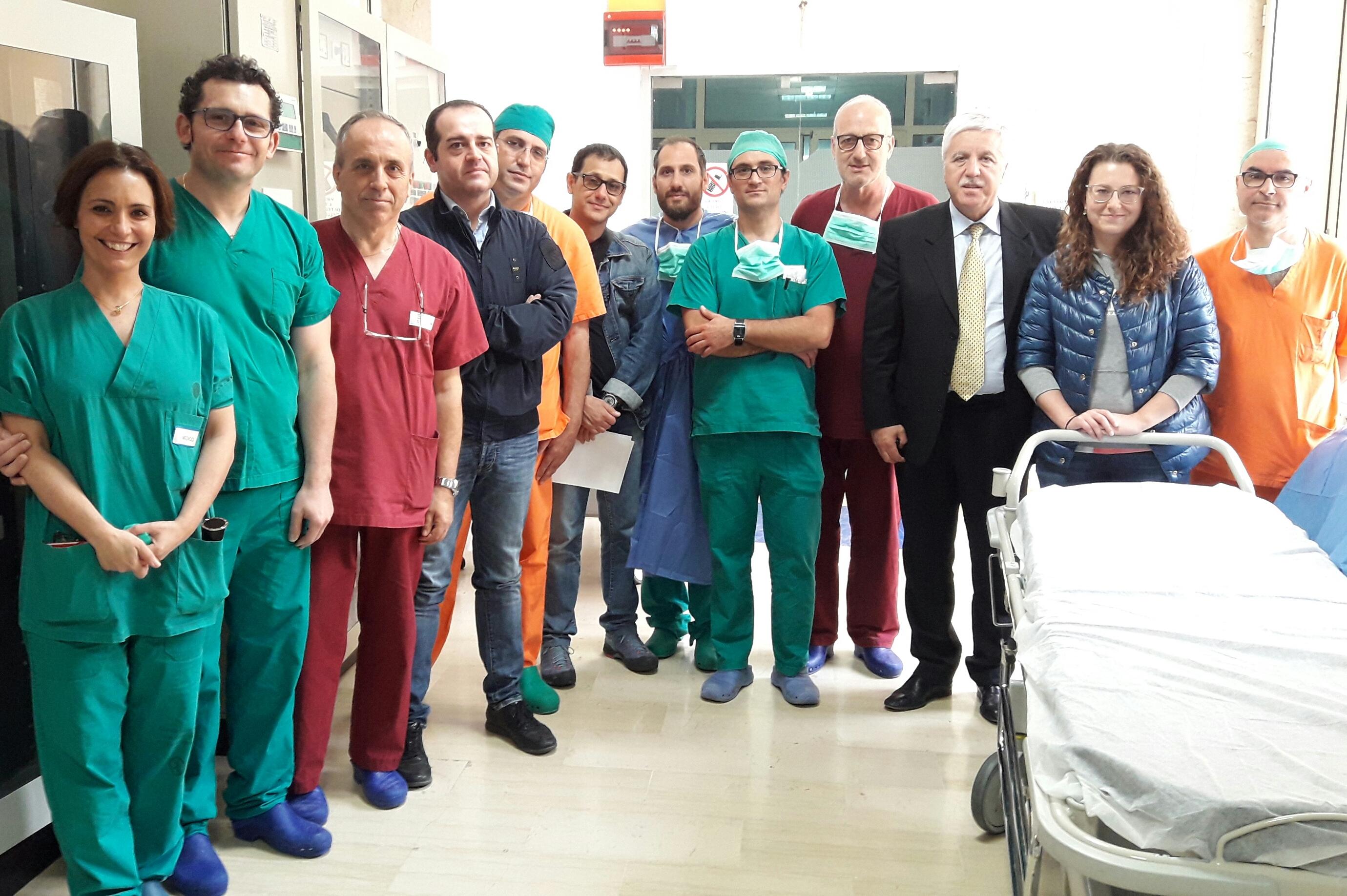 [ASP] Trapani. Tornano i prelievi di organi per trapianti al S. Antonio Abate