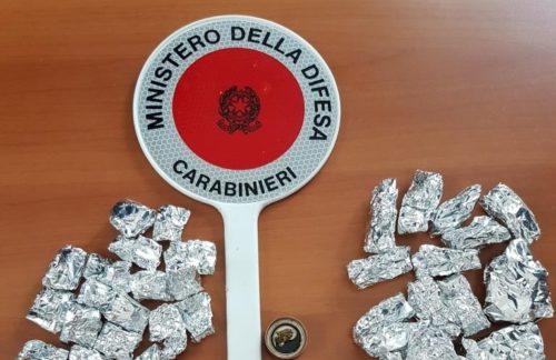 CASTELLAMARE DEL GOLFO: SPACCIAVA  MENTRE ERA AI DOMICILIARI. GIOVANE 24 ENNE ALCAMESE TORNA IN CARCERE