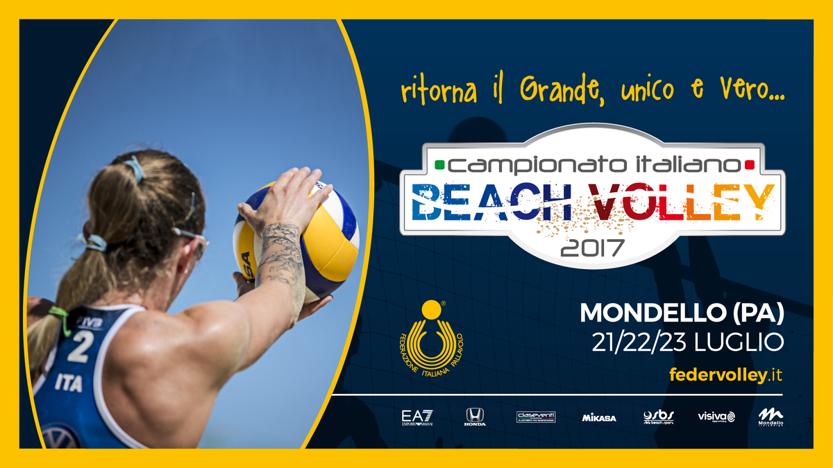 Beach Volley: Mondello aspetta il Campionato Italiano
