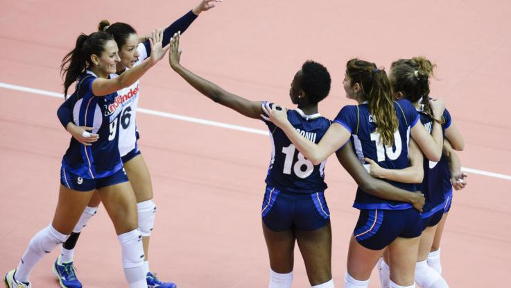 Grand Prix 2017 – Le azzurre volano alla Final Six, 3-0 alla Repubblica Dominicana
