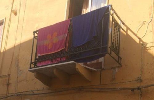 MARSALA. Soggiorno da incubo per un turista: crolla il balcone e precipita sull'asfalto