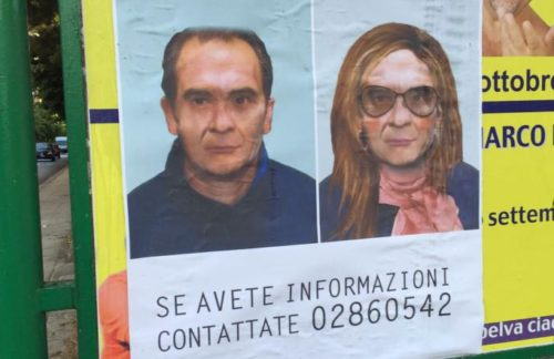 Palermo, strappati i manifesti con Matteo Messina Denaro in versione Drag Queen