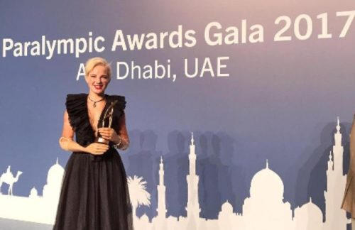 A Bebe Vio il Paralympic sport award