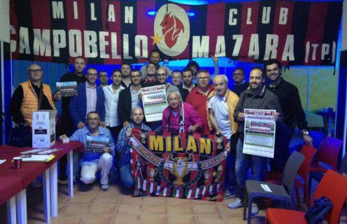 """Campobello. Il Milan Club """"F. Baresi"""" cambia sede ma non l'entusiasmo"""