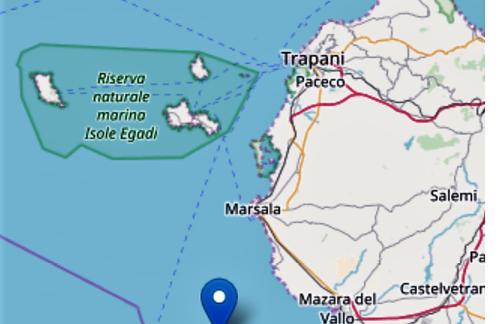 Campobello, avvertita scossa sismica di magnitudo 3
