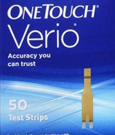 Test per la glicemia contraffatto: Johnson & Johnson ritira un lotto di OneTouch Verio Strisce Reattive