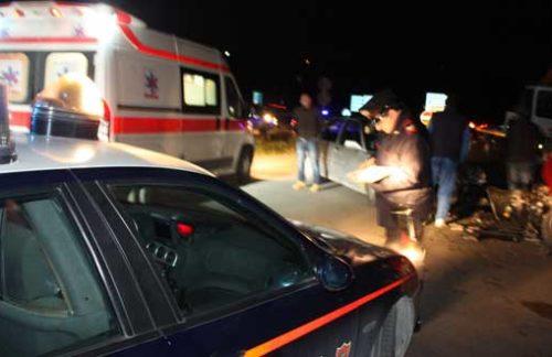 Castelvetrano. Incidente mortale nella notte, perde la vita un 34enne