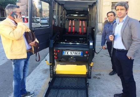 Salemi, bus gratuito ed ecologico nel centro storico
