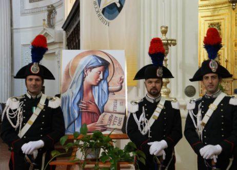 """Trapani. Celebrata la """"Virgo Fidelis, Patrona dei Carabinieri"""""""