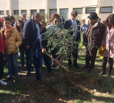 Campobello. All'ITC Vincenzo Accardi, celebrata la giornata mondiale dell'albero [Fotogallery]
