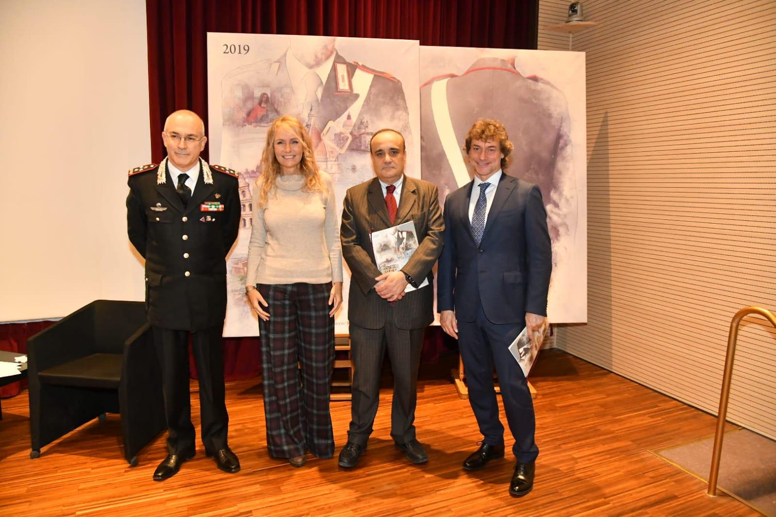 Calendario Storico Carabinieri 2019.Fotogallery I Carabinieri Presentano Il Calendario Storico
