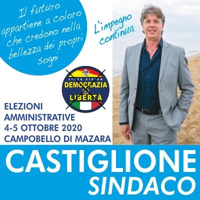 Spazio a pagamento commissionato da Biagio Stallone mandatario elettorale