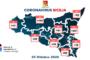 [Covid 19] (25 ottobre 2020): in #Sicilia+ 40 ricoveri, + 5 in terapia intensiva