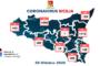 Coronavirus (28 ottobre 2020): in #Sicilia: +68 ricoveri, 244 guariti