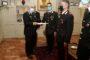 """Carabinieri: """"Il Generale Castello consegna un Encomio solenne a 7 Carabinieri""""."""