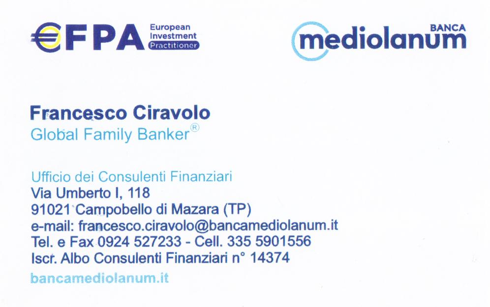 Per tutti i tuoi prodotti finanziari rivolgiti a Banca Medilanum
